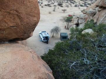 Above campsite 11a