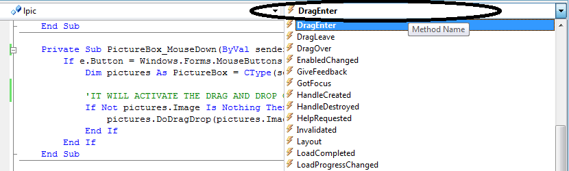 How to DragDrop and Copy Control in VB Net