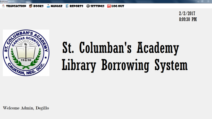 Library Management System vb.net