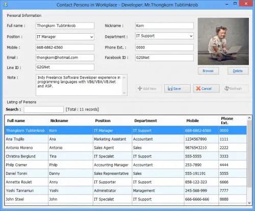 contact person vb net