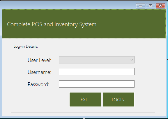 complete pos and inventory system using vb.net