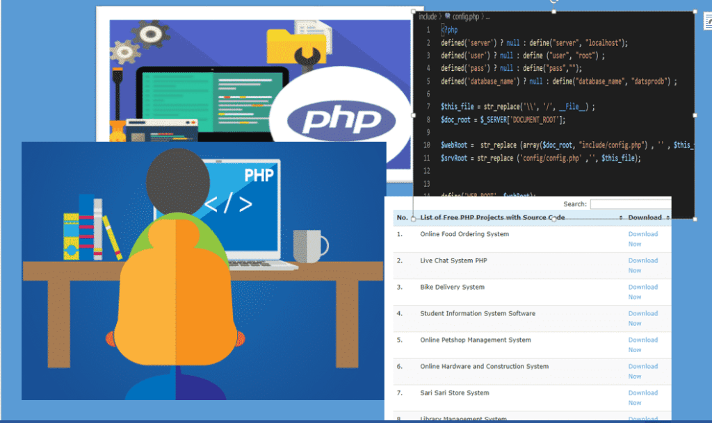 Laboutry project in php with source code free downloaad.