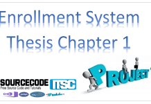 enrollment system thesis chapter 1