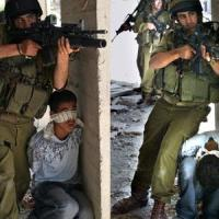 Israeli forces invade Azzun and use Palestinian civilians as human shields