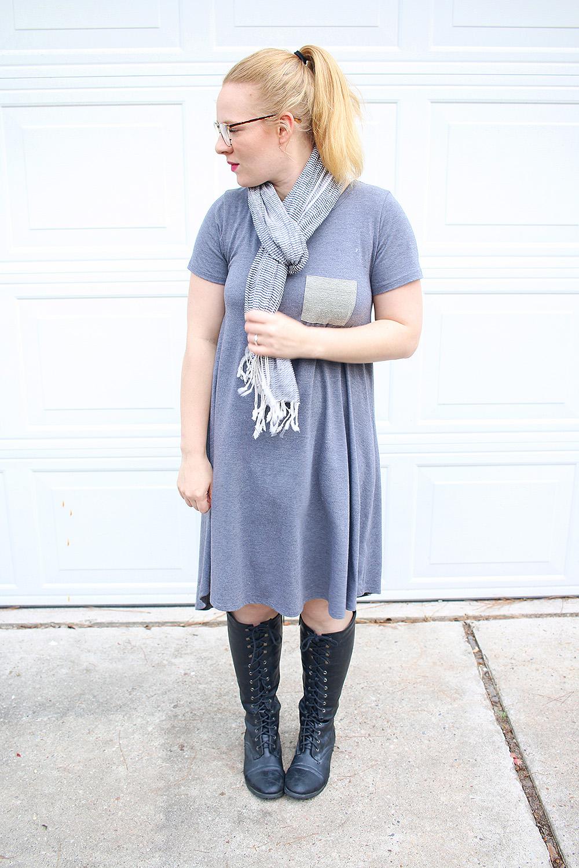 Lularoe Carly Dress Boots