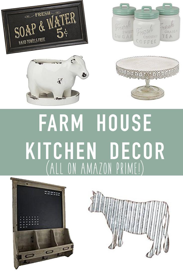 Farmhouse Kitchen Decor on Amazon | It\'s Pam Del