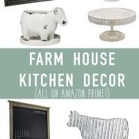 Farmhouse Kitchen Decor on Amazon