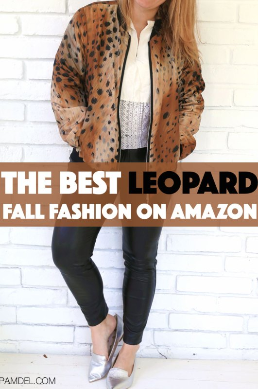 The Best Leopard Fall Fashion On Amazon