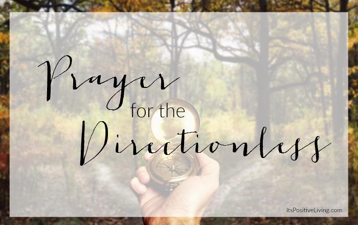 prayerfordirectionlesscover