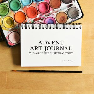 Advent Art Journal