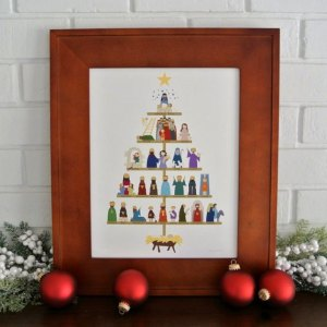 Lineage of Christ Print