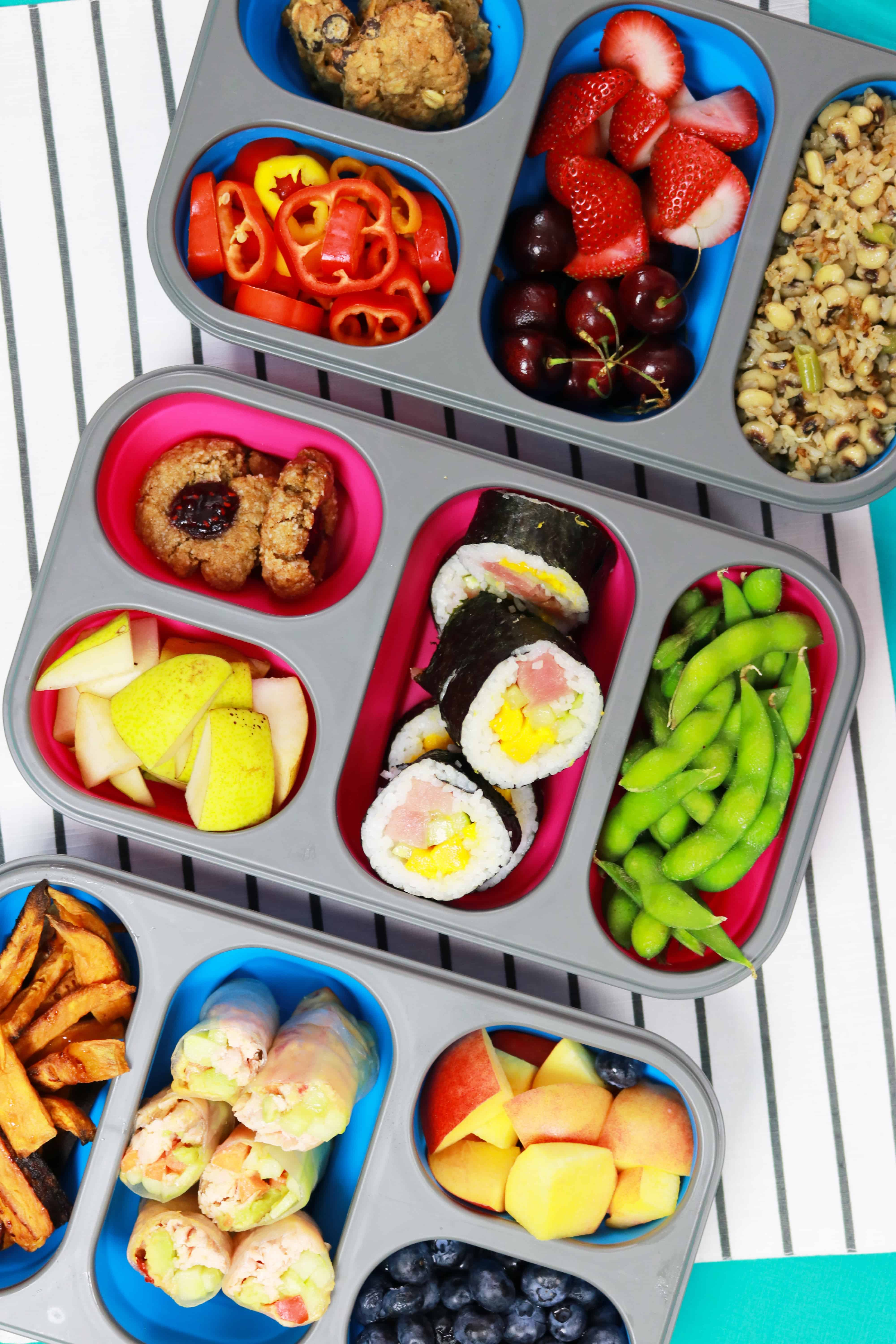3 bento box lunches healthy recipes its raining flour 3 bento box lunches 3 bento box recipes bentobox bentoboxrecipes healthy forumfinder Choice Image