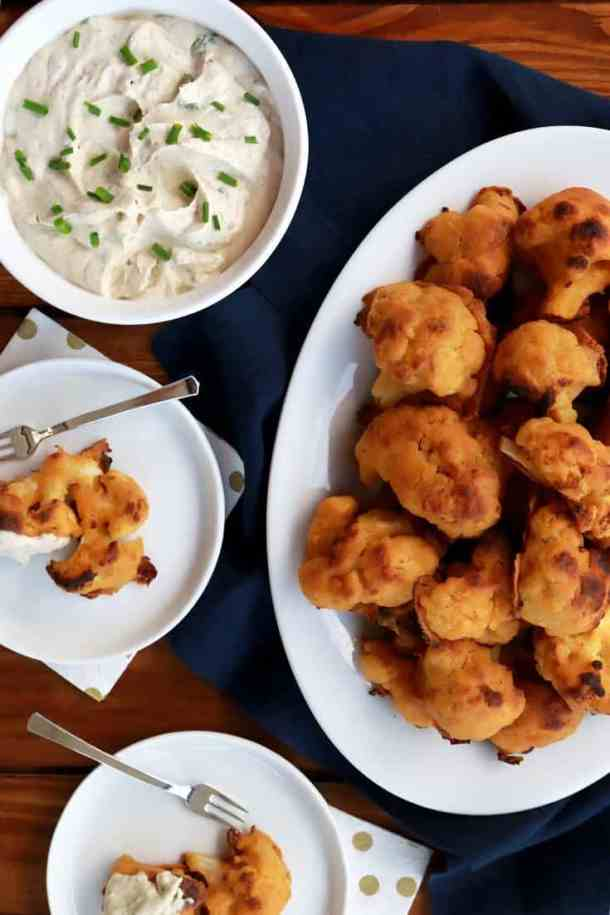 cauliflower wings, crispy crunchy cauliflower wings, baked cauliflower wings, baked cauliflower, new years eve appetizer, new years, new years eve recipe, new years ever party, healthy cauliflower recipes, cauliflower, gluten-free cauliflower recipe, gluten free, vegan, vegan cauliflower