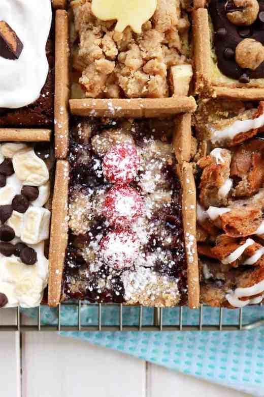 8 Desserts In 1 Pan, 8 desserts in 1 pan Tasty, 8 Desserts in 1 Pan, 8 Desserts in 1 Sheet Tray, 8 Desserts 1 pan Tasty, tasty recipes, tasty inspired food, gluten-free baking, gluten-free 8 desserts in 1 pan, itsrainingflour, I made 8 desserts in 1 pan, 8 of your favorite desserts in one pan, Tasty, recipes, dessert, food