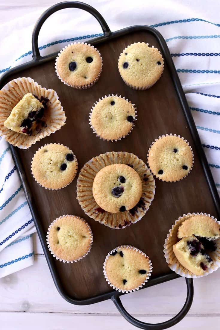passover blueberry muffins, gluten free blueberry muffins, grain free blueberry muffins, healthy muffin recipe, blueberry muffins, almond flour, tapioca starch, gluten free baking, gluten free muffins, dairy free, passover dessert recipe, pesach, pesach blueberry muffins