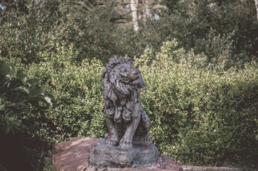 There are so many statues of lions around the city. I should start a collection of photos!