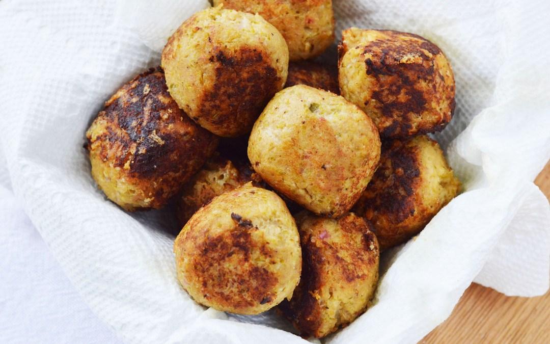 Leftover Chicken Meatballs