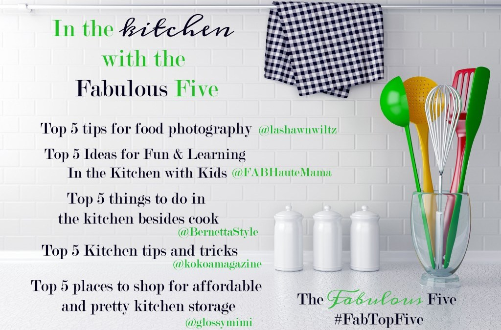 Top 5 Series: 5 Kitchen tips and tricks