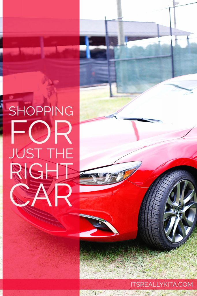 Shopping for just the right car