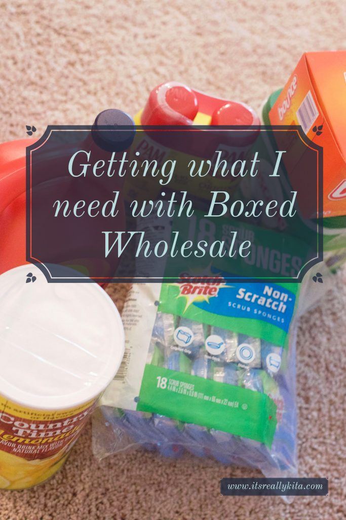 Getting what I need with Boxed Wholesale