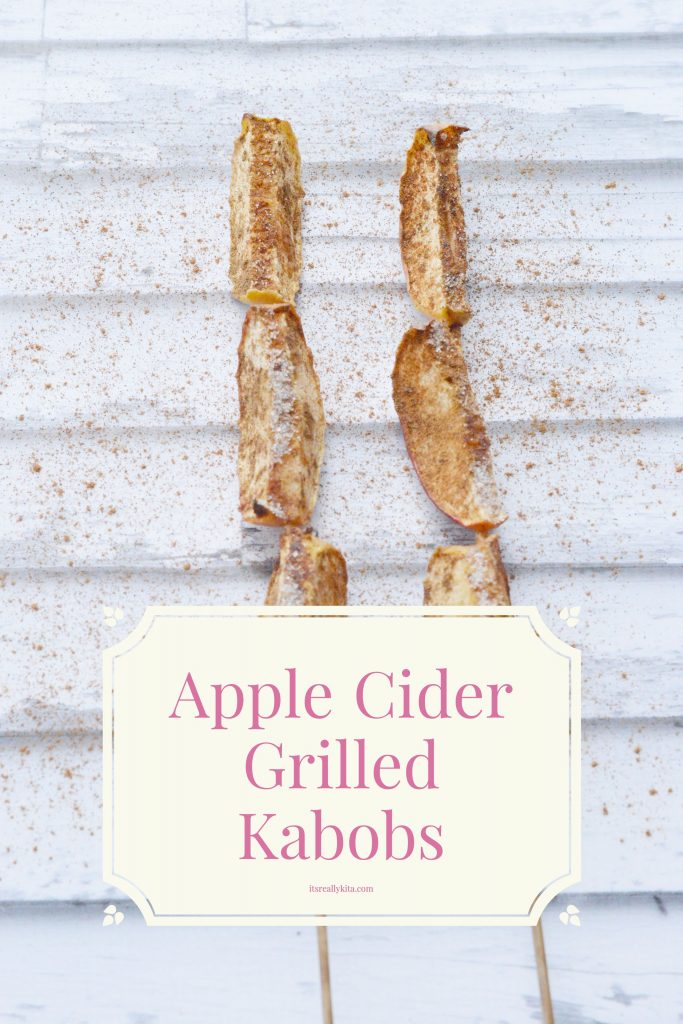 Apple Cider Grilled Kabobs