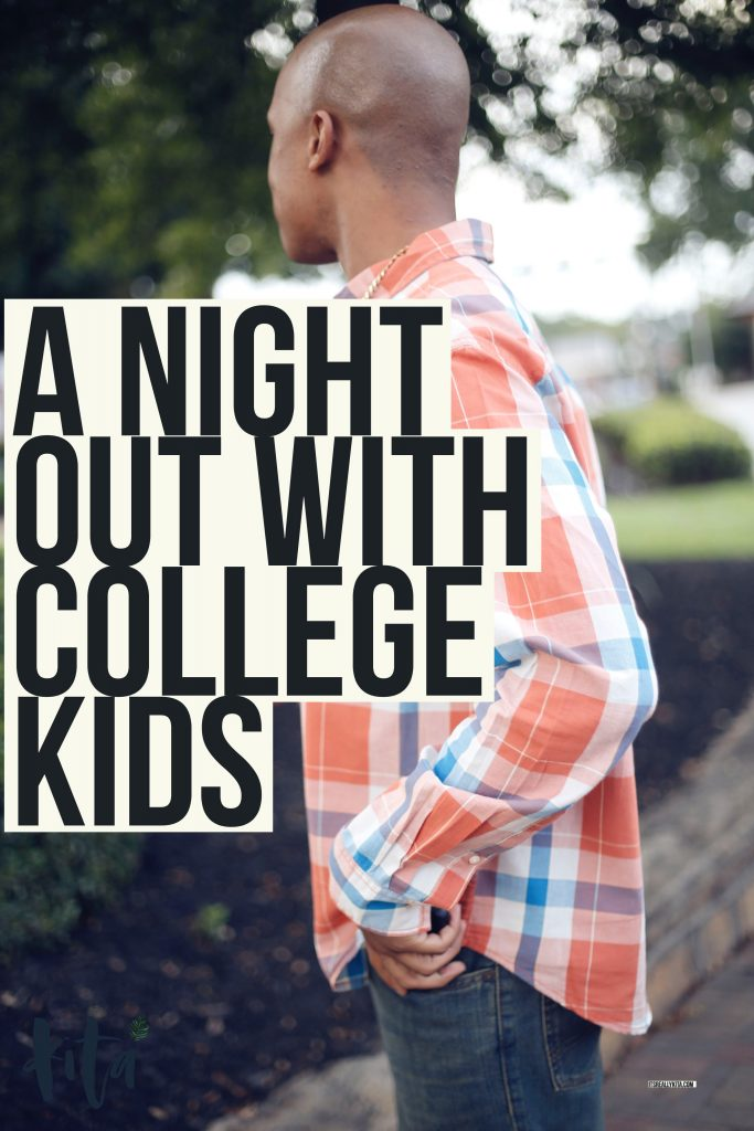 A night out with college kids