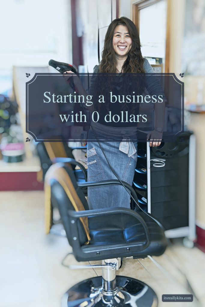 Starting a business with 0 dollars