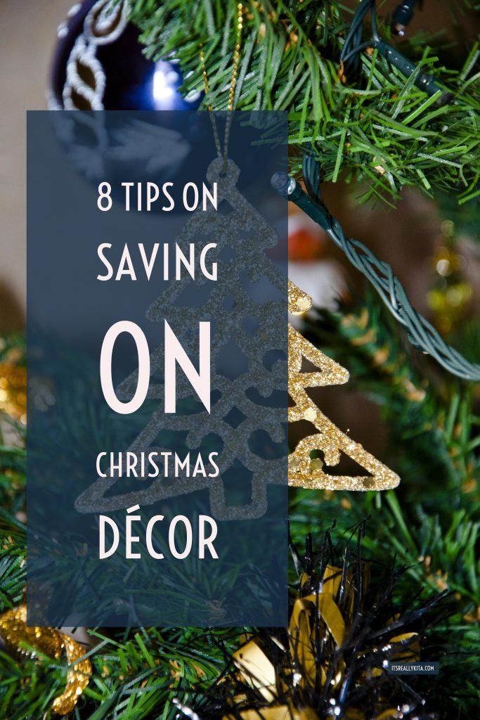 8 Tips on Saving on Christmas Décor