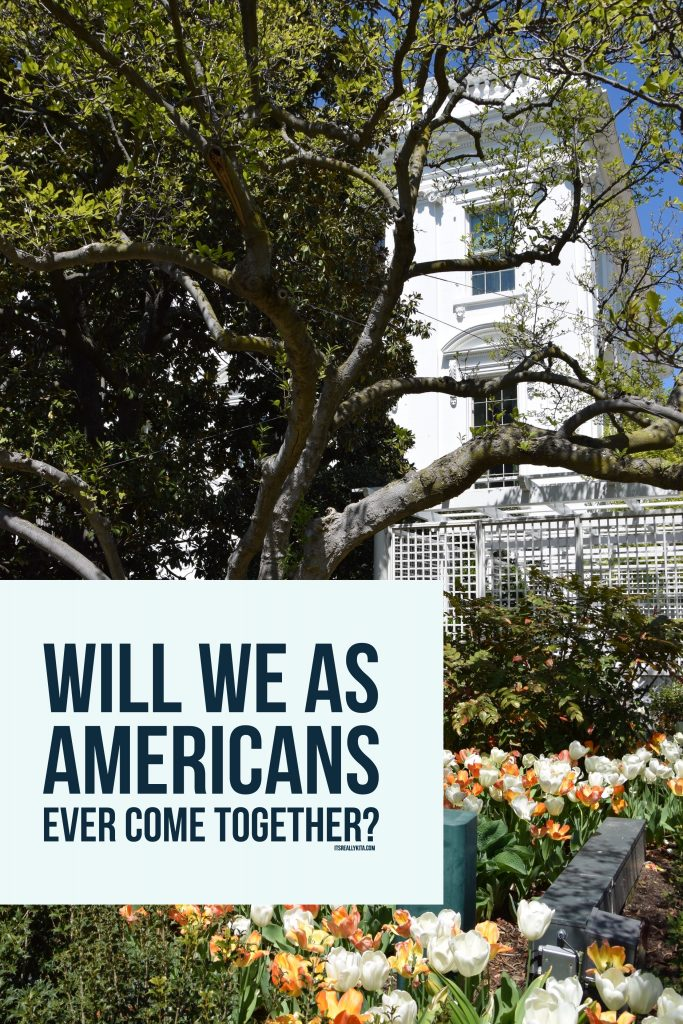 Will we as Americans ever come together?