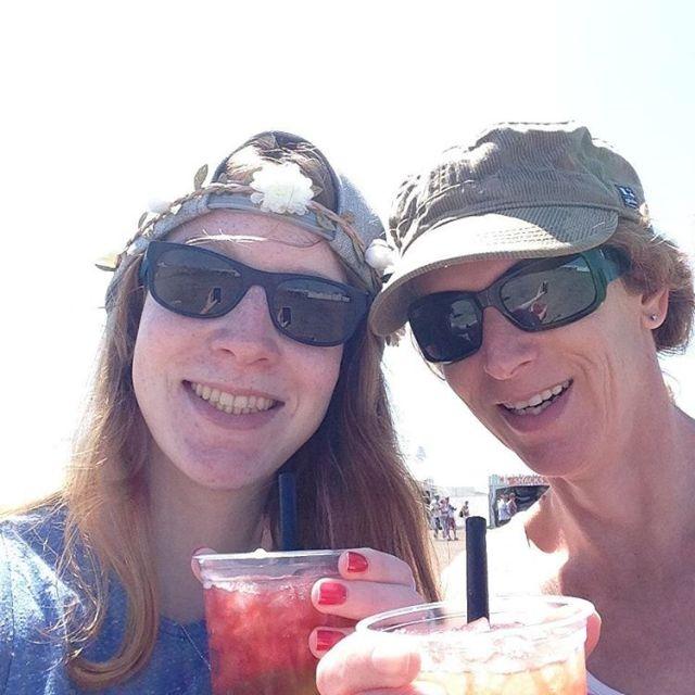 Throwback naar cocktails en zon met mama 2015 concertatsea moederdaghellip