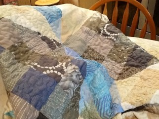 Pile of quilt!