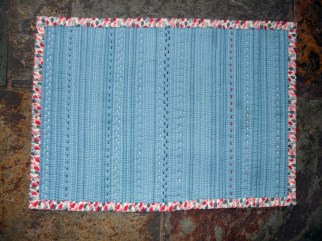 Mini Quilt Back