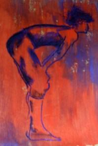 dancer pastel