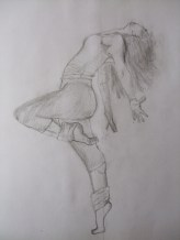 dancer1 pencil