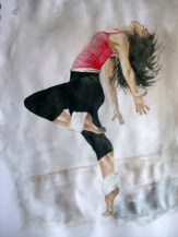 dancer1 gouache