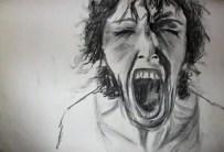 charcoal scream
