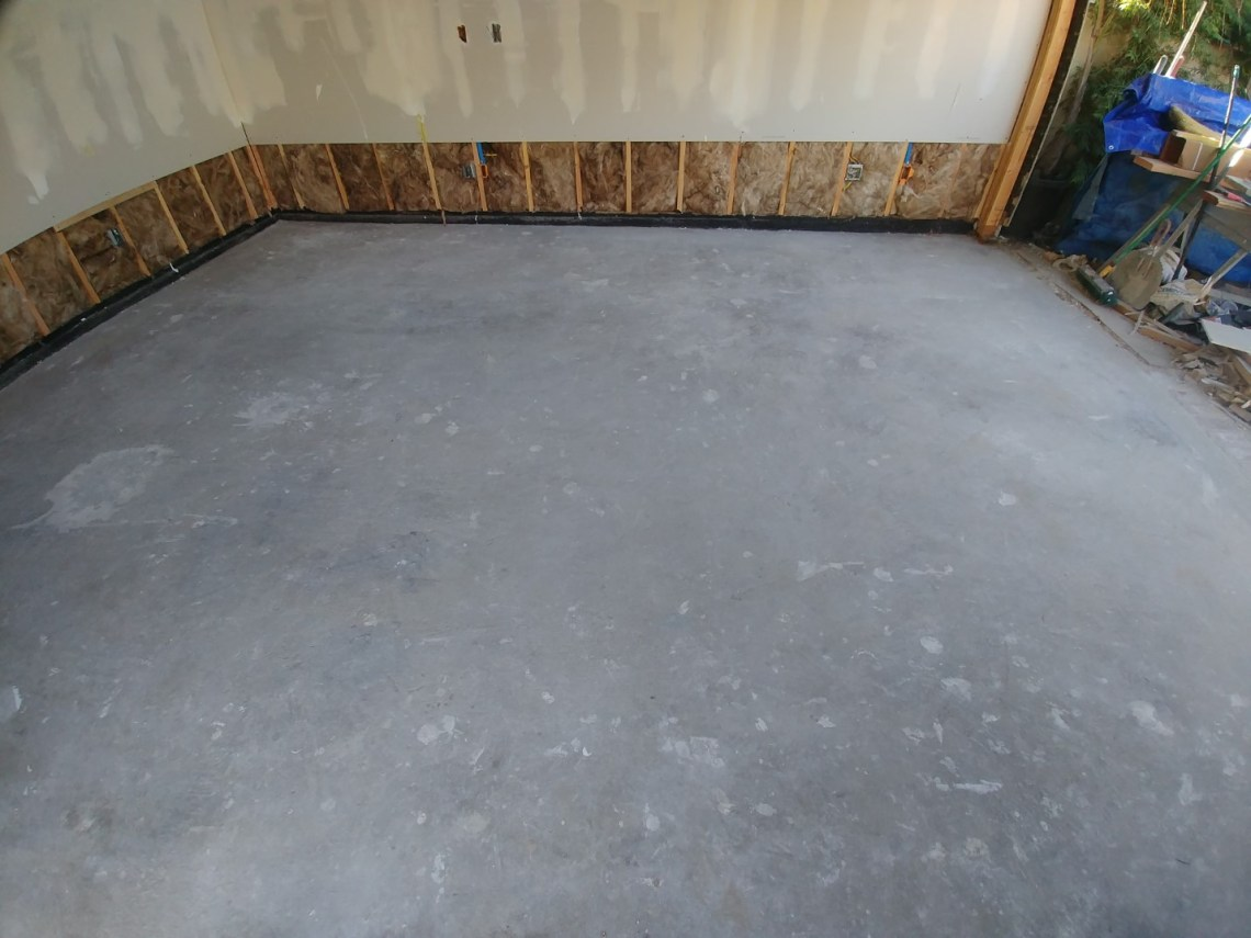 Polished Garage Floor Los Angeles