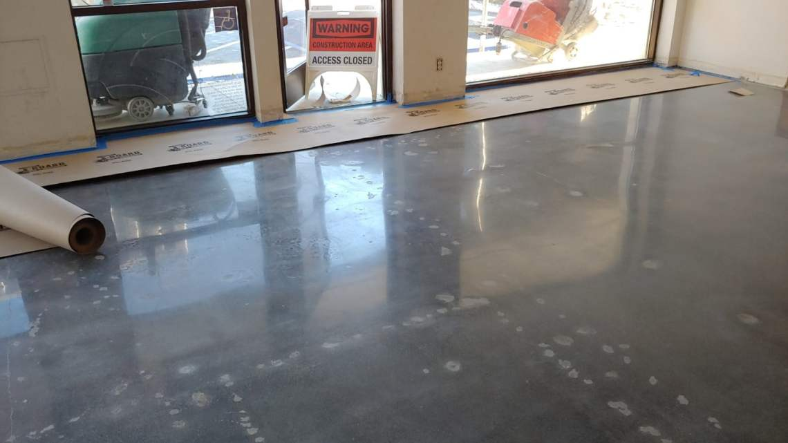Polished Concrete Floor - Commercial Office