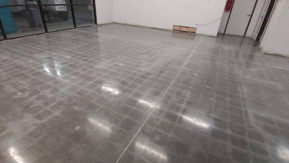 Polished Concrete Floor Retail Store