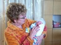 One happy and proud grandma.