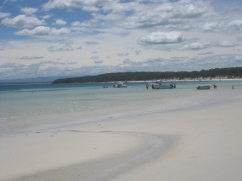 At Our Beach, Our Magic Beach, Jervis Bay, NSW | It Started in LA | itstartedinla.com