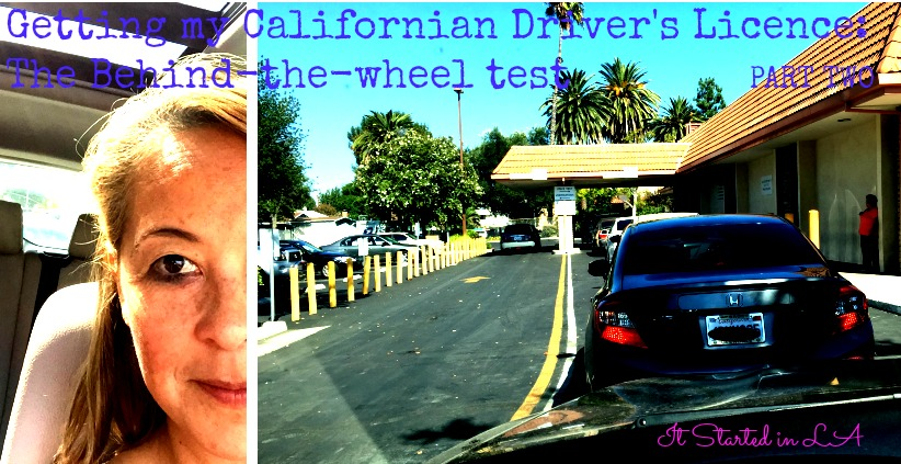 Behind-the-wheel test
