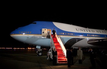 Red Carpet on Air Force 1