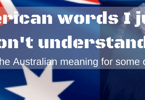 American words to Australian