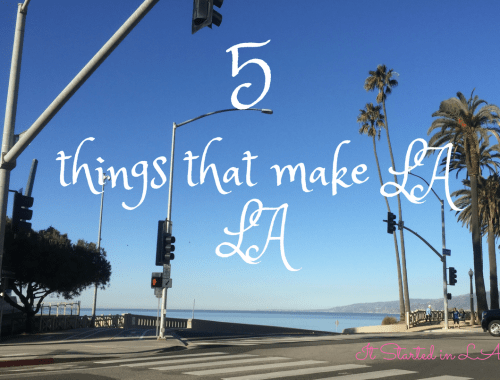 5 things about LA