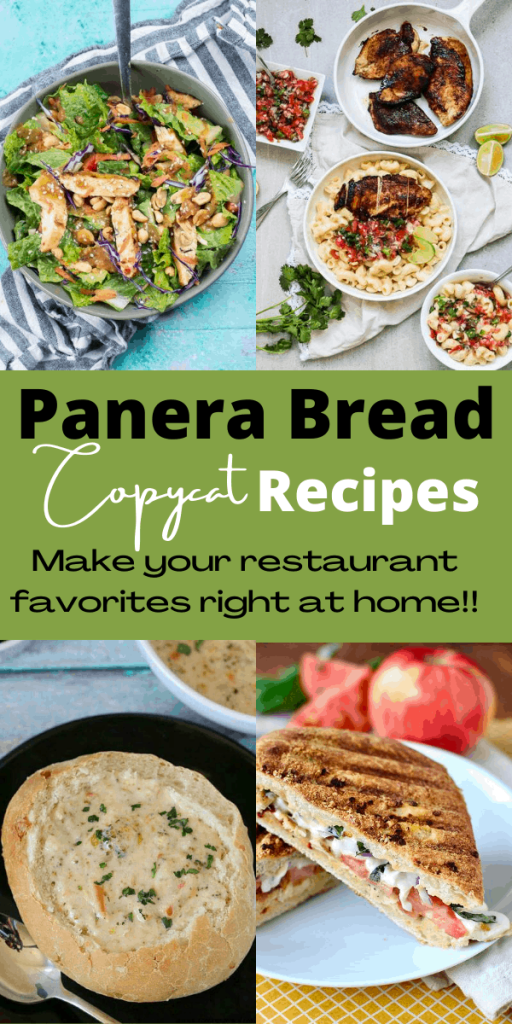 Panera Bread is a great fast-food restaurant with fresh, delicious, and creative dishes. Here is a of some copycat recipes you can make at home!