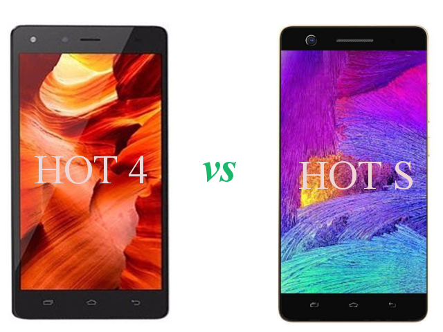 hot 4 vs hot s difference and similarities