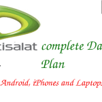 Etisalat Data Plan & Activation Codes for Android, iPhone & Laptops in 2017 {Updated}