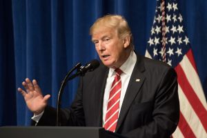 Trump Condemns Antisemitism That Doesn't Originate With Members Of His Administration