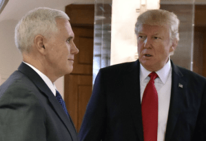 Pence Clearly Lying When Telling Trump Nothing Special Was Discussed In This Morning's Intelligence Briefing